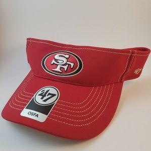 San Francisco 49ers Kaepernick Forty Niners Visor